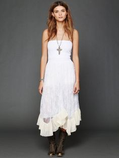 Free People Lace Convertible Slip - Free People