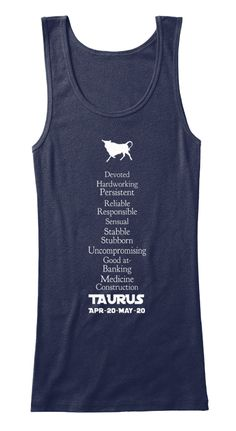 TAURUS-Zodiac-Traits-Tanks-Dark #tees #darktees #darkfashion #zodiacfashion #taurustees #tshirts