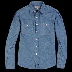 omnigod chambray work shirt - Google-haku