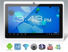 Android 4.0.4 A13 1.0GHz Tablet PC $52