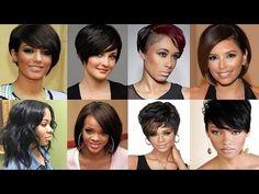 Cicilica women's world & Recipe: Black people short hairstyles | black female short...