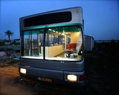 A bus gets a second life in Israel, where two women with a flair for the creative transformed it into a unique mobile home.