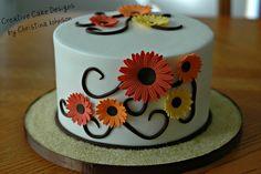 Fall Cake by Creative Cake Designs (Christina), via Flickr