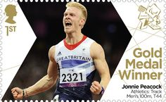 Paralympics GB finished yesterday with more silver medals than Beijing and the same number of bronzes. With 25 golds, only 2 more yesterday,. Royal Mail Stamps, Gold Medal Winners, Commonwealth Games, Team Gb, Fastest Man, Summer Olympics, Man Swimming, Olympians, Olympic Games