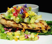 Our Hearts and Flowers entree is a beautiful meal for a wedding. Thomas Caterers of Distinction #Indianapolis #caterer