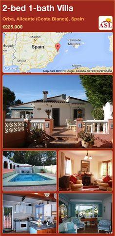 2-bed 1-bath Villa in Orba, Alicante (Costa Blanca), Spain ►€225,000 #PropertyForSaleInSpain