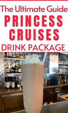 Are you wondering if the drink package on Princess Cruises is worth it? See the different beverage packages, and what is included on Princess Cruise ships. Drink photos and menus included. #princesscruises #princesscruiseship #princessdrinkpackage #cruisetips #cruisedrinkpackage Cruise Checklist, Packing List For Cruise, Cruise Tips, Cruise Travel, Cruise Vacation, Cruise Ship Reviews, Best Cruise Ships, Princess Drinks, Drink Photo