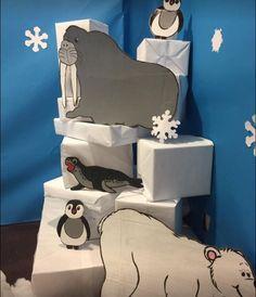 (notitle) – Ece Türemen – Join the world of pin Arctic Decorations, School Decorations, Snow Theme, Winter Theme, Winter Wonderland Decorations, Artic Animals, Fair Theme, Polo Norte, Office Christmas