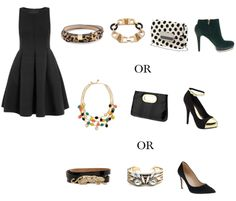 accessories for little black dress - Google Search