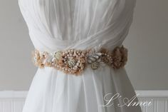 Hey, I found this really awesome Etsy listing at https://www.etsy.com/listing/170216085/handmade-golden-sequin-lace-wedding-sash