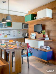 6 cozinhas com jeito de sala - Casa