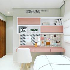Teen Bedroom Designs, Room Design Bedroom, Room Ideas Bedroom, Home Room Design, Small Room Bedroom, Home Decor Bedroom, Bedroom Ideas For Small Rooms For Teens, Small Bedroom Interior, White Bedroom