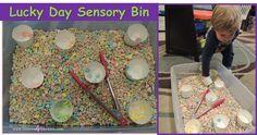 Lucky Day Sensory Bin