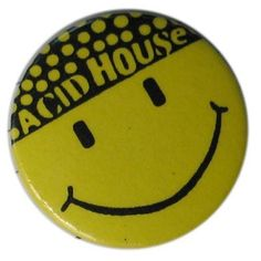 BADGE THE HACIENDA - 1989 – MANCHESTER DISTRICT MUSIC ARCHIVE