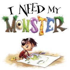 I Need My Monster illustrator Howard McWilliam