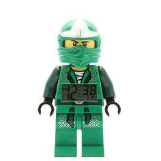 New~lego Ninjago~digital Alarm Clock~lloyd Zx Minifigure~green Ninja~9005763~htf