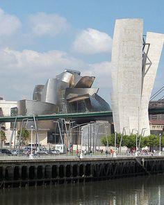 Gugenheim museum Bilbao....museo impresionante!