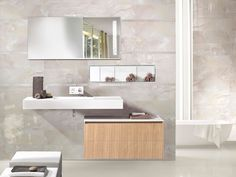 Gresie si Faianta Targu Jiu, Adi Rus - AGENT Ceramiche Brennero, Floor Italia in Romania. Romania, Double Vanity, Flooring, Jewels, Mirror, Speed Workout, Home Decor, Italia, Travertine