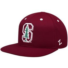 NCAA Zephyr Stanford Cardinal Mens Tailored Stretch Hat X-Large Grey