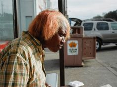 Paul Graham 'New Orleans 2004 (Woman Eating)' from the series 'a shimmer of possibility'