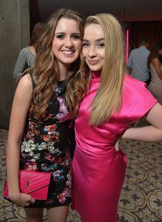 Vanessa Marano, Laura Marano, Disney Cast, Hailee Steinfeld, Girl Meets World, Disney Stars, L'oréal Paris, Dove Cameron, Sabrina Carpenter