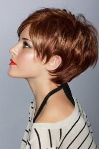 Adorable Short Hairstyles For Round Face