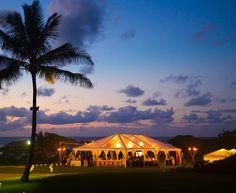 Oahu Wedding   Photo Gallery of Weddings at Turtle Bay Resort Hawaii. Night reception on Turtle Bay's Kuilima Point.