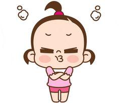 ★카카오톡 '쥐방울 이쁨주의!'이모티콘★ : 네이버 블로그 Snoopy Images, Cute Cartoon Pictures, Cute Love Cartoons, Gif Pictures, Cartoon Gifs, Baby Cartoon, Cartoon Art, Korean Stickers, Cute Love Gif