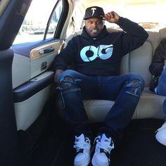db01d0633d03 DJ Steph Floss wearing Nike Air Trainer III 3