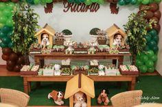 Festa Infantil – Ricardo: Cachorrinhos