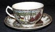 Johnson Brothers Friendly Village Made in England Cup & Saucer