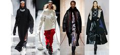 Seen on the catwalk at some of the biggest shows, a classic street wear look has been reinvented, featuring extra, extra-large sleeves. From Fenty x Puma by Rihanna and Marc Jacobs to Hood By Air and DKNY, see the latest quirky trend from the New York Fashion Week runway.