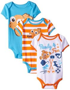 Infant Baby Bodysuit Clothes shower Gift Finding Dory Nemo Disney Pixar Cute