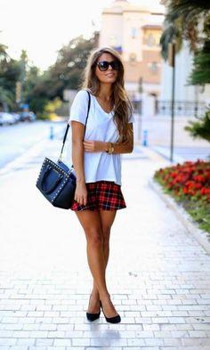 O xadrez é uma estampa atemporal que veste bem ambos os sexos além de ser a queridinha do inverno!