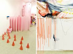 Installations by Kimberly Hennessy