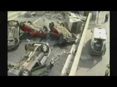 Moment Earthquake Hit Chile caught on camera.