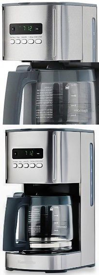 Kenmore 12 Cup Programmable Coffee Maker, White -- Awesome product. Click the image : Coffee ...