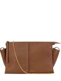 Миниатюрная сумка Tri-Fold от CELINE