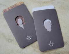 Business card design by Creative Suitcase for Impact Salon