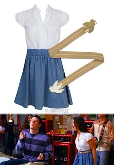 Love this Rachel Berry inspired outfit (:!