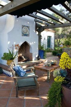 spanish style outdoor fireplace best colonial ideas on colonial decor colonial homes and homes