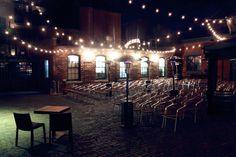 Distillery Events - Archeo patio ceremony