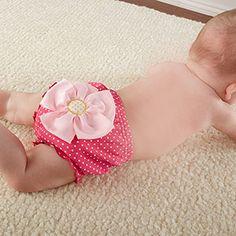 """""""Baby in Bloom"""" Flower Bloomer http://timelesstreasure.theaspenshops.com/flower-bloomer-for-baby.html"""
