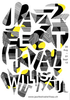 Annik Troxler's Jazz Posters are as Wild as a Charlie Parker Solo