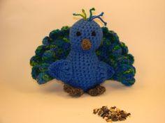 Amigurumi Peacock - Free Pattern http://www.cutoutandkeep.net/projects/peacock