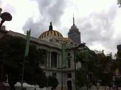 Palacio de Bellas Artes, torre Latino Americana / México City