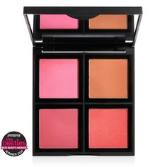Powder Blush Palette | e.l.f. Cosmetics $6. Would be a good way to try several different types of blushes