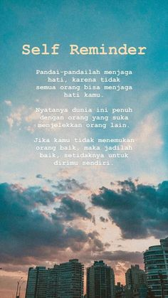 Quotes Rindu, Tumblr Quotes, Self Love Quotes, Mood Quotes, Life Quotes, Reminder Quotes, Self Reminder, Bip Bip, Cinta Quotes
