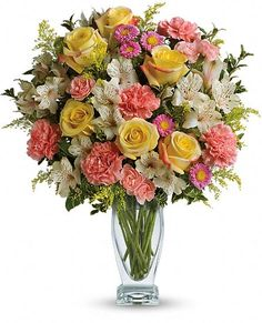 Meant To Be Bouquet by Teleflora Flowers
