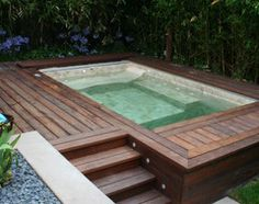 small pools in small lots by bay - Google Search